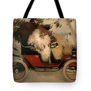 In The Automobile Tote Bag