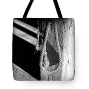In The Barn Bw Tote Bag
