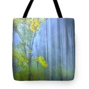 In The Blue Forest Tote Bag