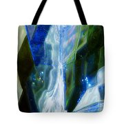 In The Blue Realm Tote Bag