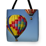 In The Clear Blue Skies Tote Bag