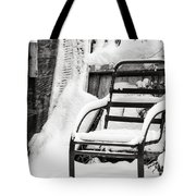 In The Cold Seat Tote Bag