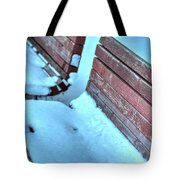 In The Coldest Of Days...i Still Wait... Tote Bag