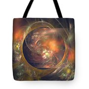 In The Crystal Ball Tote Bag