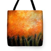 In The Dark Of The Wood Tote Bag