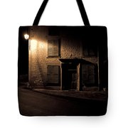 In The Dead Of Night Tote Bag