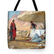 In The Desert Of Mount Sinai Tote Bag
