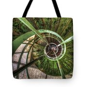 In The Eye Of The Spiral  Tote Bag