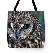 In The Eyes Of The Owl Tote Bag