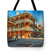 In The French Quarter - Paint Tote Bag