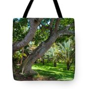 In The Garden. Mauritius Tote Bag