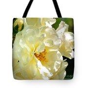 Sunny Rose Garden Tote Bag