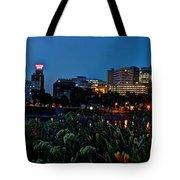 In The Glow Of Harrisburg Tote Bag