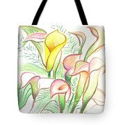 In The Golden Afternoon Tote Bag