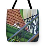 In The Gutter Tote Bag