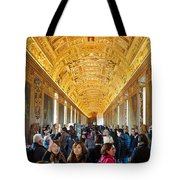 In The Hall Of Maps Tote Bag