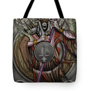 In The Halls Of The Mage-king Tote Bag