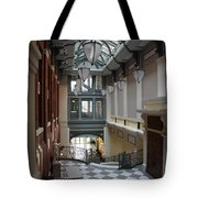 In The Hallway - Peabody Library Tote Bag