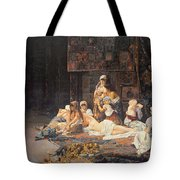 In The Harem Tote Bag by Jose Gallegos Arnosa
