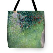 In The Hawthorn Hedge Tote Bag