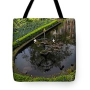 In The Heart Of Amsterdam Hidden Tranquility  Tote Bag