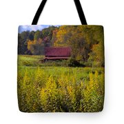 In The Heart Of Autumn Tote Bag