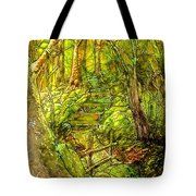 In The Heart Of The Forest Tote Bag