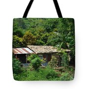 In The Jungle House Tote Bag