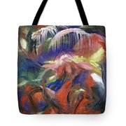 In The Jungle Tote Bag by Roberta Rotunda