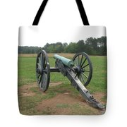 In The Line Of Fire - Manassas Battlefield Tote Bag