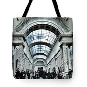 In The Louvre  Tote Bag