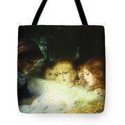 In The Manger Tote Bag by Hugo Havenith