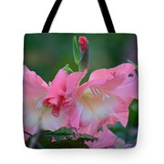 In The Midst Of Hydrangeas Tote Bag