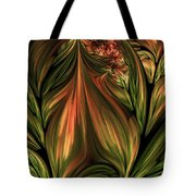 In The Midst Of Nature Abstract Tote Bag