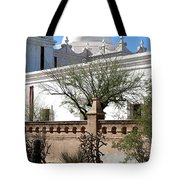 In The Mission Garden Tote Bag