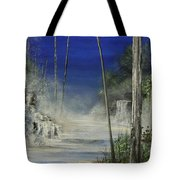 In The Mist Do Not Miss The Sea Tote Bag