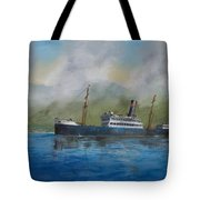 In The Mists Of Martinique Tote Bag