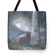 In The Misty Moonlight Tote Bag