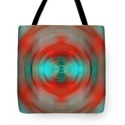 In The Moment - Energy Art By Sharon Cummings Tote Bag