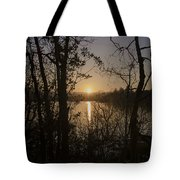 In The Morning At Lough Eske Tote Bag