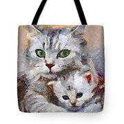 In The Mothers Embrace Tote Bag