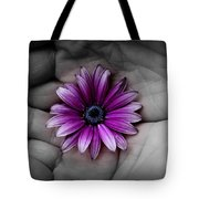 In The Palm Of My Hand Tote Bag