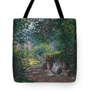 In The Park Monceau Tote Bag