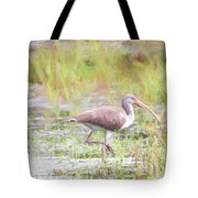 In The Pasture Grass Tote Bag