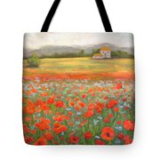 In The Poppy Field Tote Bag