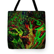 In The Rock 'n' Roll Jungle Tote Bag