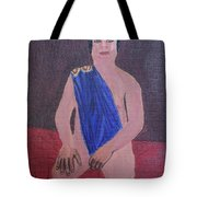 In The Royal Blue Tote Bag