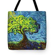 In The Shade Of Glory Tote Bag