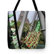 In The Shadow Of Hogwarts Tote Bag