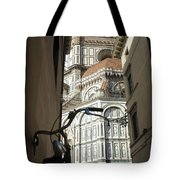 In The Shadow Of Il Duomo Tote Bag